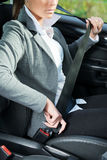 Fasten your seat belt Royalty Free Stock Photo
