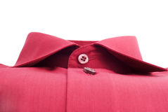 Fastened red shirt Royalty Free Stock Photography
