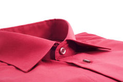 Fastened red shirt Royalty Free Stock Photo