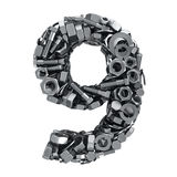 Fasteners 9 Royalty Free Stock Images