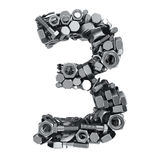 Fasteners 3 Royalty Free Stock Image