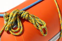 Fastening ropes Stock Photos
