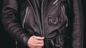 Lock leather jackets