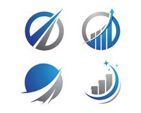Faster logo template. Icon illustration design Stock Photos