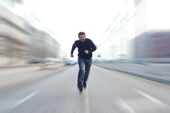 Fastest man Stock Photo