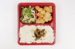 Fastfood. Chinese fastfood,rice and meal Stock Photos