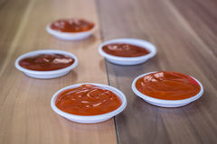 Fastfood dip sauce Stock Photo