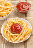 Fastfood. French fries Stock Photography