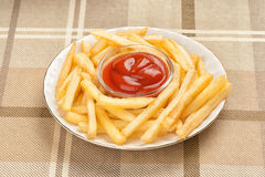 Fastfood. French fries Royalty Free Stock Images