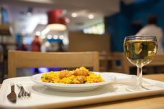 Fastfood Restaurant Stock Photo