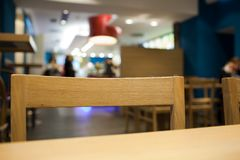 Fastfood restaurant Royalty Free Stock Images