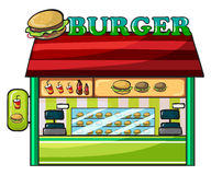 A fastfood restaurant Royalty Free Stock Photos
