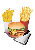 Fastfood Royalty Free Stock Photos