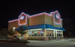 Fastfoodrestaurang i Florida Fotografering för Bildbyråer
