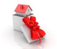 Fastighet - köp ett nytt hus Royaltyfria Foton