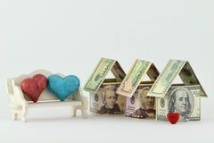 Fastighetmarknad, en blomstrande framtid Arkivfoto