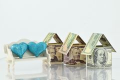 Fastighetmarknad, en blomstrande framtid Royaltyfri Fotografi