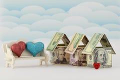 Fastighetmarknad, en blomstrande framtid Arkivbilder