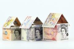 Fastighetsinvestering i UK, en blomstrande framtid Arkivfoto