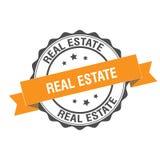 Fastighetstämpelillustration Royaltyfria Foton