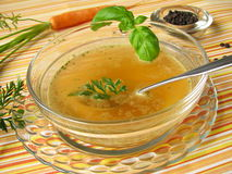 Fasting soup stock photos