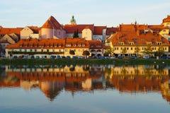 Fastlagen Maribor, Slovenien Arkivfoto