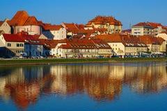 Fastlagen Maribor, Slovenien Royaltyfria Foton