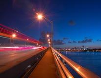 fastlane Miami obrazy stock