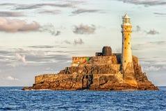 Fastnet fyr, Irland royaltyfri fotografi