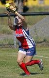 fastpitch dziewczyn midget procyshen Saskatoon Zdjęcia Stock