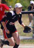 fastpitch dziewczyn midget studler Winnipeg Zdjęcia Stock