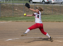 Fastpitch Stock Photo