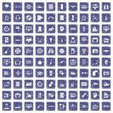 fastställd safir för grunge 100 Arkivfoton