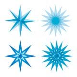 Fastställd samling för stjärna Royaltyfria Bilder