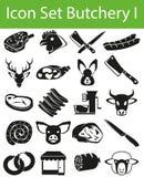 Fastställd slakt I för symbol royaltyfri illustrationer