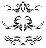 Fastställda stam- tatueringar Royaltyfria Foton