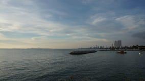 Fastställt hav för sol lager videofilmer