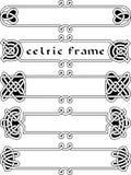 Fastställd celtic ram Royaltyfri Foto