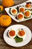 faszerowane jajka Fotografia Royalty Free