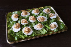 faszerowane jajka Zdjęcie Royalty Free