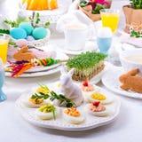 faszerowane jajka Obraz Stock