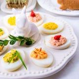 faszerowane jajka Zdjęcia Stock