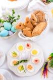 faszerowane jajka Obrazy Royalty Free