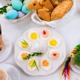 faszerowane jajka Fotografia Stock