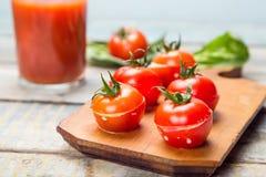 faszerowane pomidory Obrazy Stock