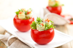 faszerowane pomidory Obrazy Royalty Free