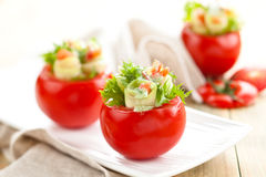 faszerowane pomidory Fotografia Royalty Free
