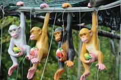 faszerująca zwierzę małpa Fotografia Royalty Free