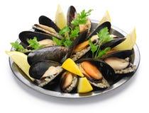 Faszerujący mussels, turecki jedzenie Obrazy Stock