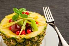 faszerujący owoc ananas fotografia stock